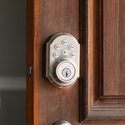 Champaign security smartlock